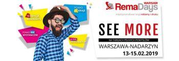 15. edycja targów RemaDays Warsaw